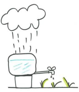 casa pasiva moncalvillo recuperacion aguas pluviales riego