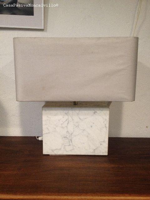 Una l mpara de m rmol con historia casa pasiva - Reciclar marmol ...